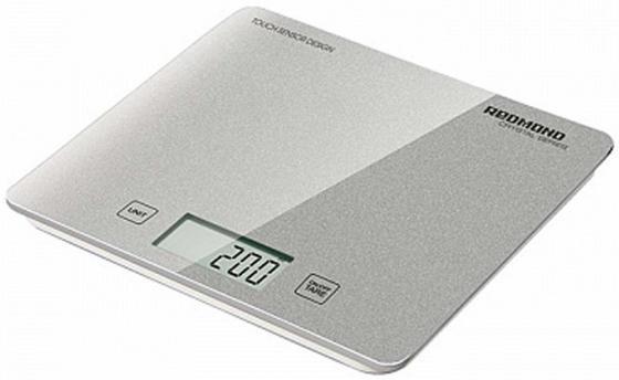 Весы кухонные Redmond RS-724-E серебристый кухонные весы redmond rs 724