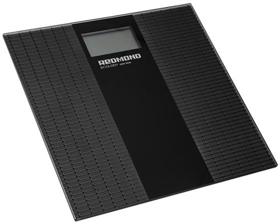 Весы напольные Redmond RS-749 чёрный серый умные весы напольные redmond skybalance 740s