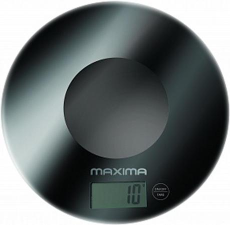 Весы кухонные MAXIMA MS-067 чёрный maxima ms 017