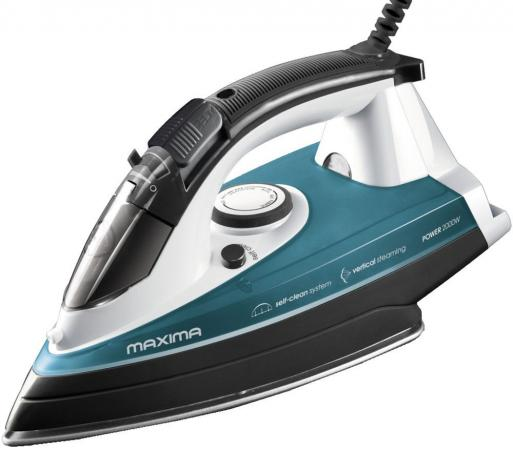 Утюг Maxima MI-S122 (Голубой) maxima elite 2 в 1