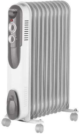 Масляный радиатор Engy EN-2005 1000 Вт серый фен промышленный engy gah 2000c