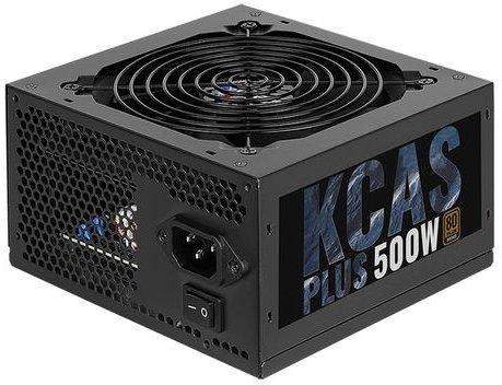 Блок питания Aerocool 500W Retail KCAS PLUS 500W , 80 PLUS Bronze, ATX v2.4, fan 12cm, 2x PCI-E [6+2-Pin], 7x SATA, 4x MOLEX 1pcs 20cm 4 pin molex ide to 3 pc computer cpu case fan power connector cable adapter aqjg