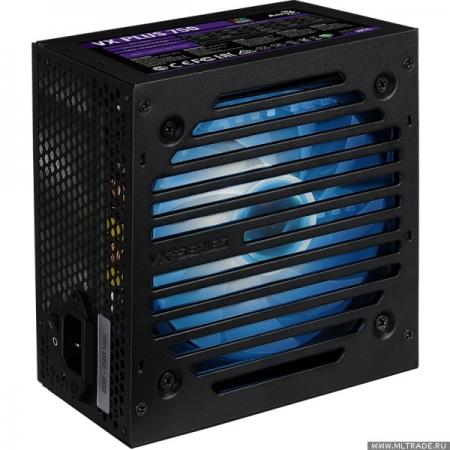 Фото - Блок питания ATX 750 Вт Aerocool Retail VX PLUS 750 RGB блок питания atx 400 вт aerocool vx plus 400