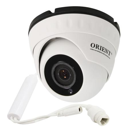 Камера IP ORIENT IP-950-OH1AP MIC CMOS 1/4 2.8 мм 1280 x 720 H.264 RJ-45 PoE белый panarama escam qp130 3d 1 3mp fisheye 1280 1024 h 264 ip camera