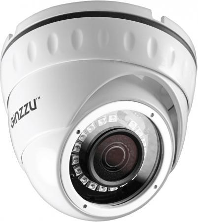 Фото - Видеокамера GINZZU HAD-2035S Sony323 1/2.9 3.6 мм 1920 x 1080 белый видеокамера
