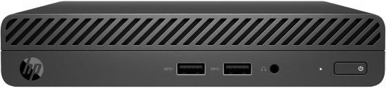 ПК HP 260 G3 Mini i3 7130U (2.7)/4Gb/SSD256Gb/HDG620/Windows 10 Professional 64/GbitEth/WiFi/BT/65W/клавиатура/мышь/черный цены онлайн