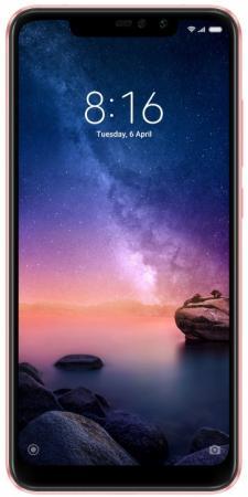 Смартфон Xiaomi Redmi Note 6 Pro розовое золото 6.26 64 Гб LTE Wi-Fi GPS 3G Bluetooth M1806E7TG смартфон xiaomi redmi note 6 pro 64 гб розовое золото m1806e7tg