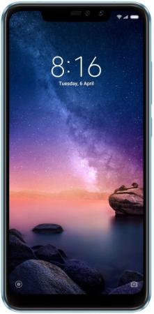 Смартфон Xiaomi Redmi Note 6 Pro голубой .26 64 Гб LTE Wi-Fi GPS 3G Bluetooth X20338
