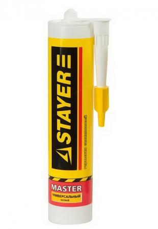 Герметик STAYER MASTER санитарный силиконовый, для помещений с повышенной влажностью, прозрачный, 260мл [41215-2_z01] pudi a59360 women winter 30