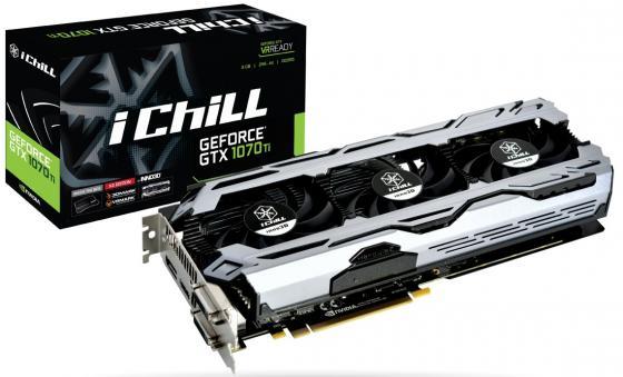Купить Видеокарта InnoVISION GeForce GTX 1070 Ti ICHILL X3 V2 PCI-E 8192Mb GDDR5 256 Bit Retail C107T3-3SDN-P5DS