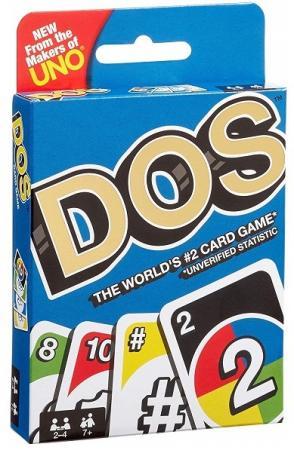 Настольная игра карточная MATTEL Uno