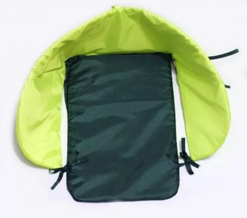 Матрац для санок RT Дьюспо салатово-чёрный куртка для собак airyvest двухсторонняя размер s 35 салатово желтая