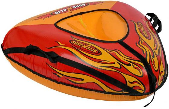 Тюбинг RT Пламя до 100 кг ПВХ разноцветный 6936 тюбинг rt апельсин с автокамерой до 100 кг пвх оранжевый 73 см 4997