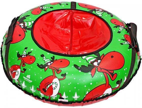 Тюбинг RT Весёлый олень до 50 кг тентовая ткань рисунок 6967 тюбинг rt весёлый олень до 50 кг рисунок тентовая ткань 6967