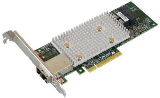 Microsemi Adaptec SmartRAID 3154-8i8e Single,8 internal port, 8 external ports, PCIe Gen3 ,x8,1 GB DDR4,RAID 0/1/10,RAID 5/6/50/60,FlexConfig,maxCache 4.0
