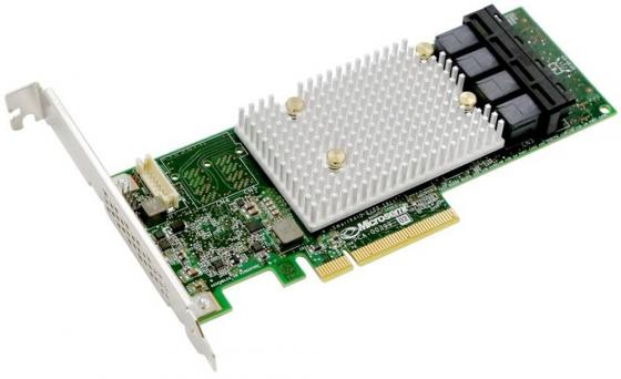 Microsemi Adaptec SmartRAID 3154-16i Single,16 internal ports,PCIe Gen3 ,x8,4 GB DDR4,RAID 0/1/10,RAID 5/6/50/60,FlexConfig,maxCache 4.0