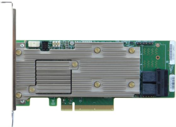Купить Intel® RAID Adapter RSP3DD080F Tri-mode PCIe/SAS/SATA, SAS3508, 8 int. ports PCIe/SAS/SATA, RAID 0, 1, 10, 5, 50, 6, 60 +JBOD, Cache 4GB, PCIe x8 Gen3