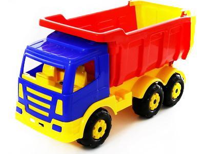 Самосвал Polesie Автомобиль-самосвал Премиум Wader разноцветный