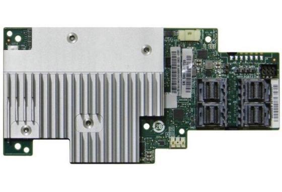 Intel® RAID Module RMSP3AD160F Tri-mode PCIe/SAS/SATA Full-Featured RAID Mezzanine Module, SAS3516, 16 int. ports PCIe/SAS/SATA, RAID 0, 1, 10, 5, 50, 6, 60 +JBOD, Cache 4GB, SIOM PCIe x8 Gen3 raid controller for 46m0916 m5014 sas sata pcie 256mb