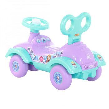 Каталка-машинка Molto Автомобиль-каталка Disney Холодное сердце пластик от 3 лет на колесах разноцветный каталка машинка molto автомобиль каталка пикап красный от 1 года пластик