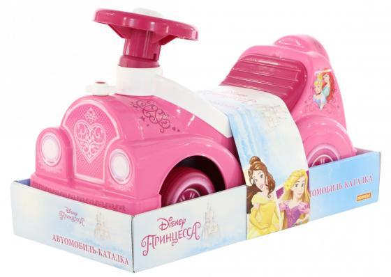 Каталка-машинка Molto Автомобиль-каталка Disney Принцессы пластик от 3 лет музыкальная розовый каталка машинка molto автомобиль каталка пикап красный от 1 года пластик