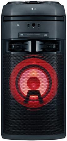 Микросистема LG OK65 черный 500Вт/CD/CDRW/FM/USB/BT микросистема lg cm2460 100вт черный