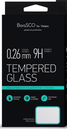Защитное стекло 3D BoraSCO 13052 для iPhone 7 Plus iPhone 8 Plus 0.26 мм защитное стекло borasco 3d для apple iphone 7 белая рамка