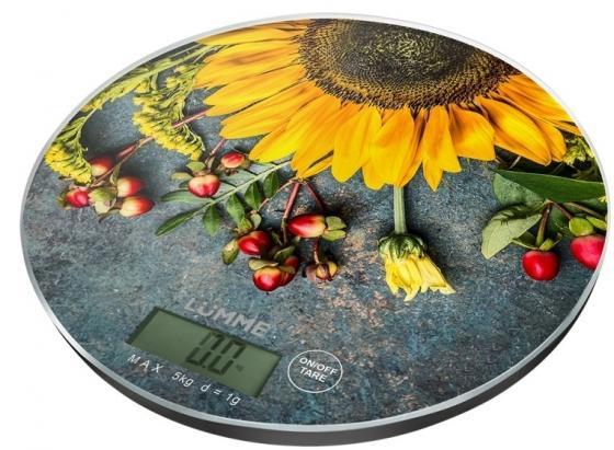 Весы кухонные Lumme LU-1341 рисунок безмен lumme lu 1326