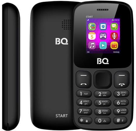 BQ 1413 Start Black Мобильный телефон мобильный телефон alcatel onetouch 2008g black white