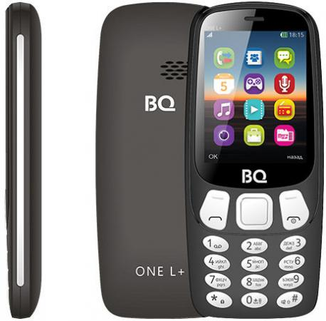 BQ 2442 One L+ Black Мобильный телефон bq 2442 one l black мобильный телефон