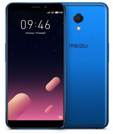 Смартфон Meizu M6s синий 5.7 32 Гб LTE Wi-Fi GPS 3G смартфон nokia 5 ds медный 5 2 16 гб lte wi fi gps