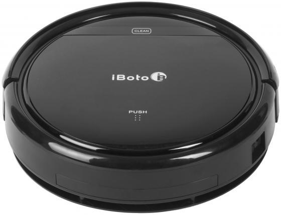 Робот-пылесос iBoto Aqua X310 сухая влажная уборка чёрный робот пылесос iboto smart x610g aqua