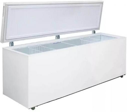 Морозильный ларь Бирюса Б-680VKQ белый морозильный ларь бирюса 200vk