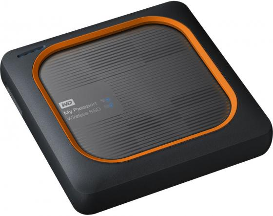 Накопитель твердотельный WD Внешний SSD WD My Passport Wireless SSD WDBAMJ5000AGY-RESN 500ГБ 2,5 USB 3.1/WiFi (E6B) yobangsecurity home wifi wireless gsm security alarm system outdoor solar pir motion sensor wireless siren smoke detector
