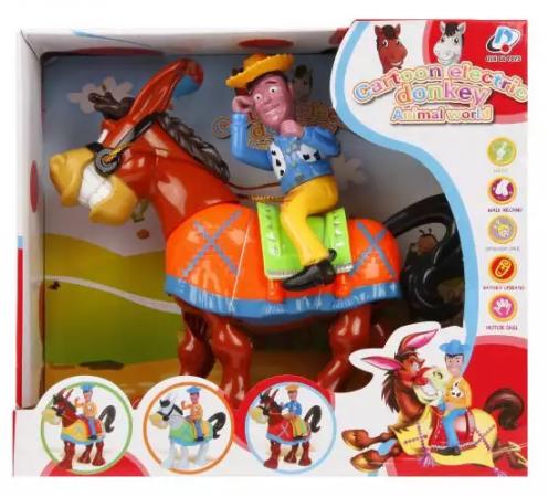 Интерактивная игрушка Наша Игрушка Веселый ковбой от 18 месяцев