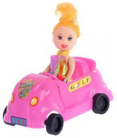 Кукла Наша Игрушка Сид с машинкой игрушка
