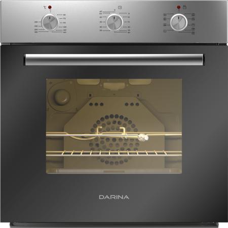 Электрический шкаф DARINA 0U5 BDE112 705 X черно-серебристый