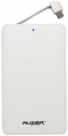 Внешний аккумулятор AUZER AP4400W White аккумулятор внешний auzer b 3000 mah