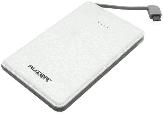 Внешний аккумулятор AUZER AP3000W White аккумулятор auzer ap9200 white
