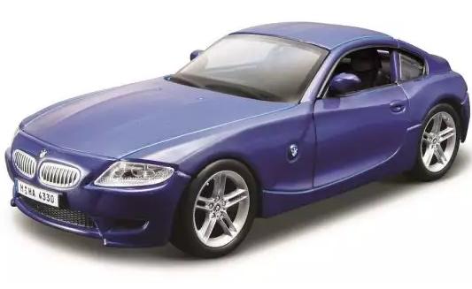 Автомобиль Bburago BMW 1:32 фиолетовый bburago машина mercedes benz cl550 металл сборка 1 32 bburago