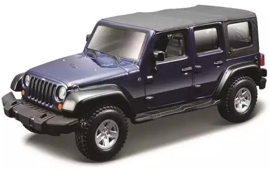 цена на Джип Bburago Jeep 1:32 фиолетовый