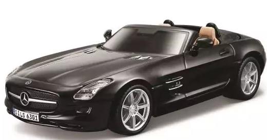 Автомобиль Bburago Mercedes 1:32 цвет в ассортименте bburago машина mercedes benz cl550 металл сборка 1 32 bburago