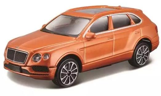 Автомобиль Bburago Alfa Romeo 1:43 оранжевый автомобиль bburago mercedes benz sl 500 1 24 18 21067