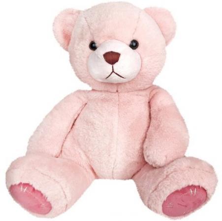 Мягкая игрушка медведь Fluffy Family Мишка Зефирчик 27 см розовый искусственный мех трикотаж пластмасса мишка fluffy family тимка 30 см розовый 681258