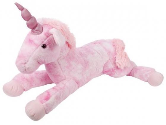 Мягкая игрушка единорог Fluffy Family Единорог 80 см розовый искусственный мех пластмасса наполнитель мягкая игрушка единорог fluffy family единорог искусственный мех пластмасса наполнитель розовый 80 см
