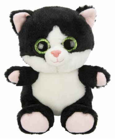 Мягкая игрушка котенок Fluffy Family Крошка Котенок черн. 15 см черный искусственный мех наполнитель игрушка fluffy family поросенок чен 17cm 681500