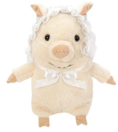 Мягкая игрушка свинка Fluffy Family Бэби Свин 15 см искусственный мех трикотаж пластмасса наполнитель мягкая игрушка единорог fluffy family единорог искусственный мех пластмасса наполнитель розовый 80 см