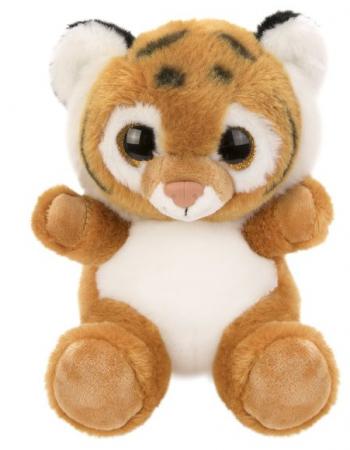 Мягкая игрушка Тигренок Fluffy Family Крошка Тигренок 15 см искусственный мех наполнитель мягкая игрушка котенок fluffy family крошка котенок бел 15 см белый искусственный мех наполнитель