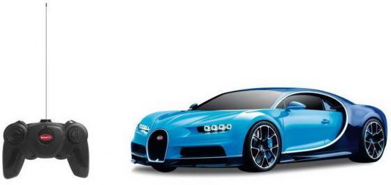 Машинка на радиоуправлении RASTAR Bugatti Chiron разноцветный от 6 лет машинка на радиоуправлении rastar 48000 52 bmw m3 police