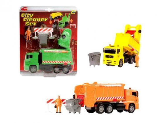Мусоровоз Dickie Мусороуборочная машина машины dickie мусоровоз функциональный 3308357
